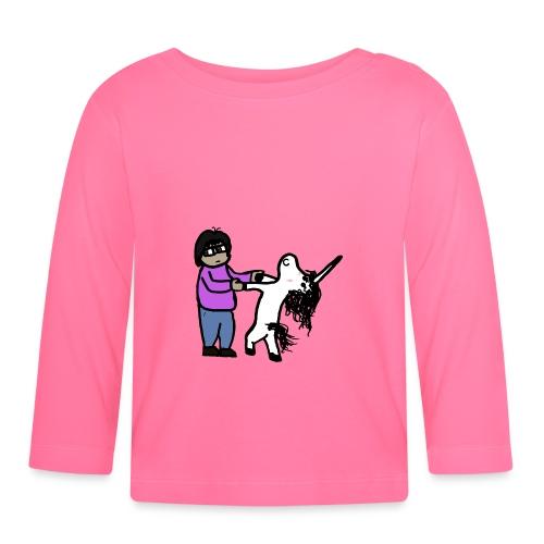 Unicorn Veñ - Maglietta a manica lunga per bambini