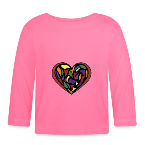 cuore di vetro - Maglietta a manica lunga per bambini
