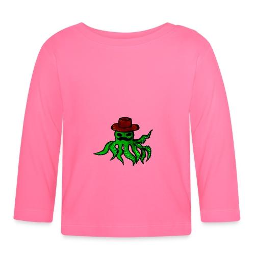 Polpo con cappello - Maglietta a manica lunga per bambini