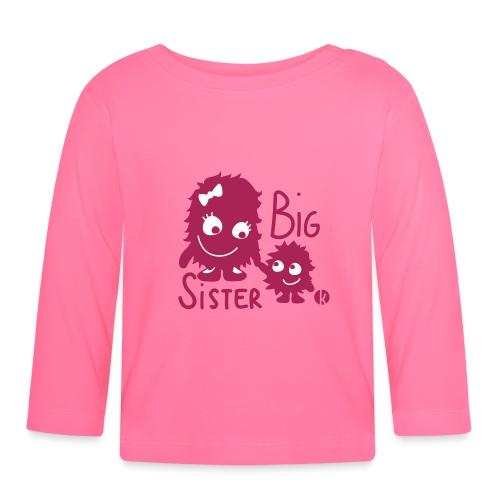 Big Sister 2c - Baby Langarmshirt