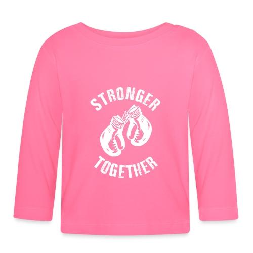 Stronger Together - Baby Langarmshirt