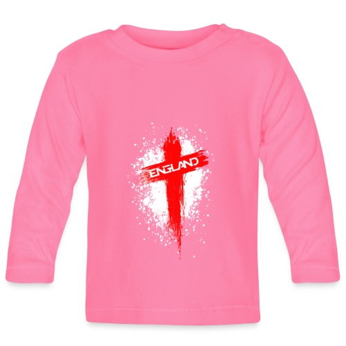 England Painted-Red - Baby Long Sleeve T-Shirt
