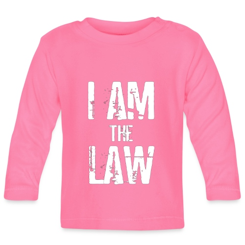 Tank top girl woman I AM THE LAW per avvocatessa - Baby Long Sleeve T-Shirt