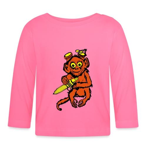Steampunk Monkey - Baby Long Sleeve T-Shirt