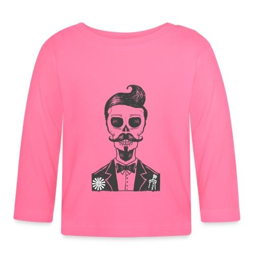 RT Skull Gentleman - Baby Langarmshirt