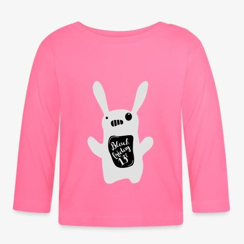 White rabbit - Koszulka niemowlęca z długim rękawem