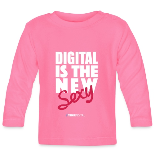 DIGITAL is the New Sexy - Maglietta a manica lunga per bambini