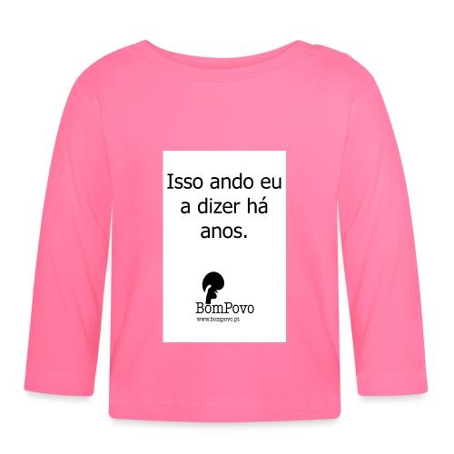 issoandoeuadizerhaanos - Baby Long Sleeve T-Shirt