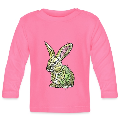 Scribblebunny - Baby Long Sleeve T-Shirt