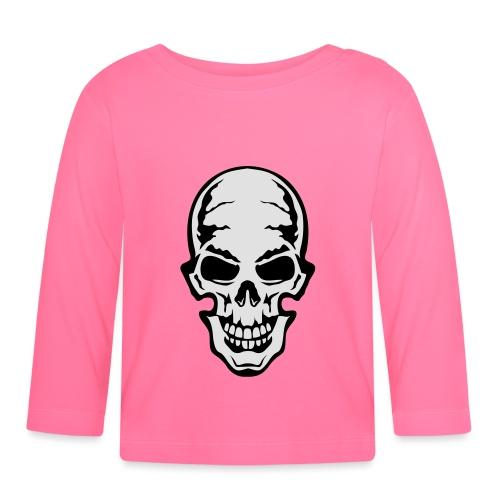 gothic gothique tete mort skull dead 106 - T-shirt manches longues Bébé