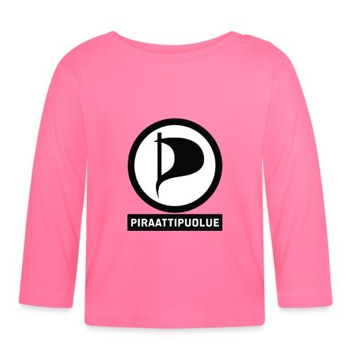 Piraattipuolue - Vauvan pitkähihainen paita