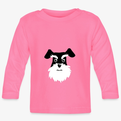 Schnauzer - Långärmad T-shirt baby