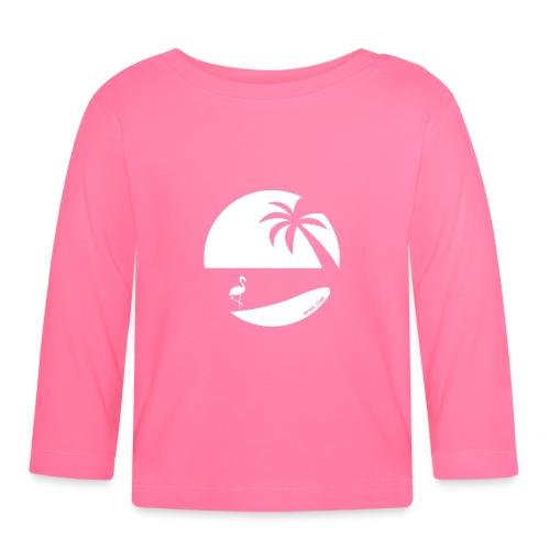 Logo French Floridian blanc - T-shirt manches longues Bébé