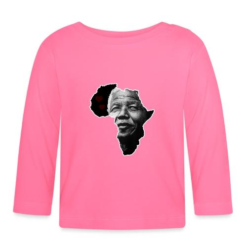 Nelson Mandela Love - Långärmad T-shirt baby