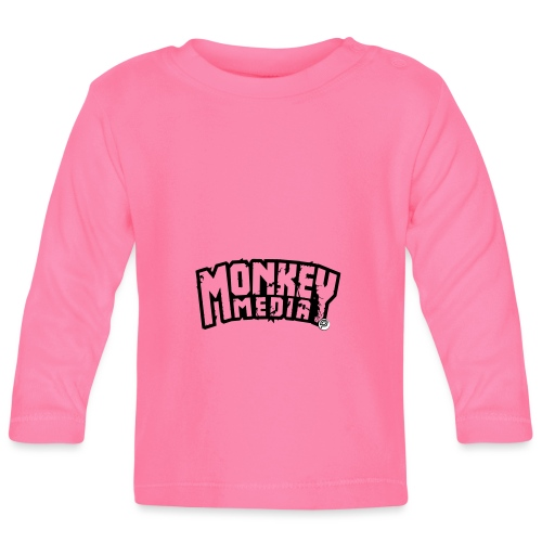 MonkeyMedia Wortlaut - Baby Langarmshirt