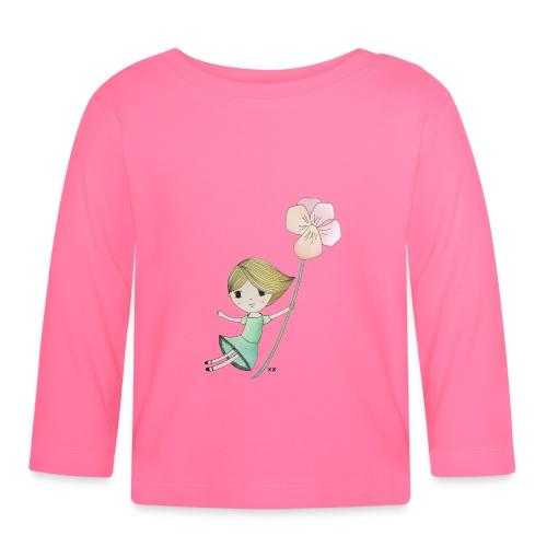 meisje met viool - T-shirt