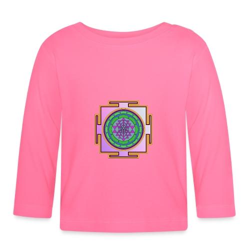 Géométrie sacrée mandala n°2 - T-shirt manches longues Bébé