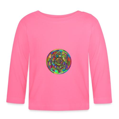 mandala et géométrie sacrée - T-shirt manches longues Bébé