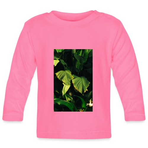 Botanische Kunst - Baby Langarmshirt
