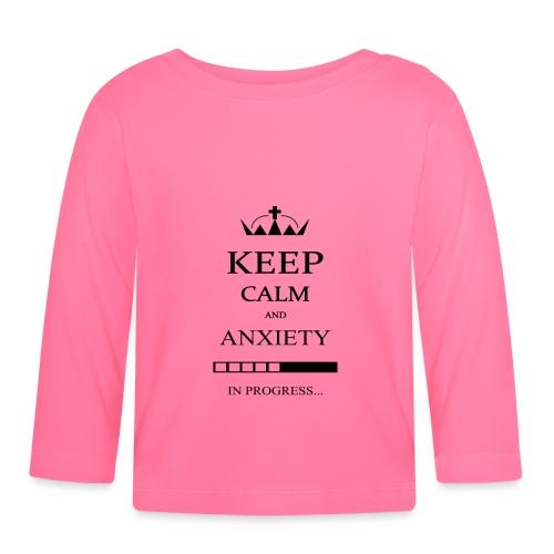 keep_calm - Maglietta a manica lunga per bambini