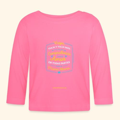 VIAJA - Camiseta manga larga bebé