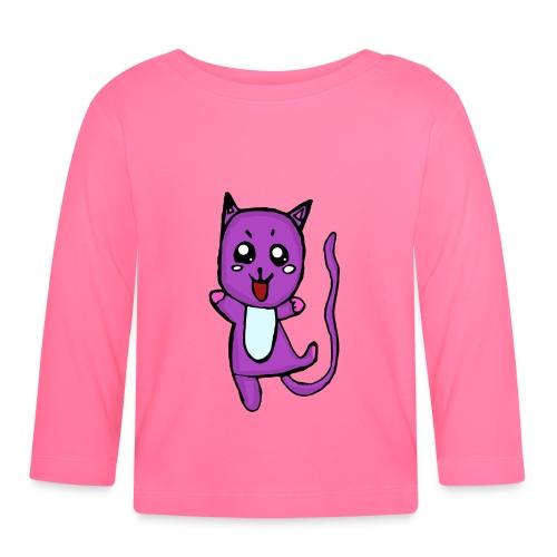Lino le chat - T-shirt manches longues Bébé