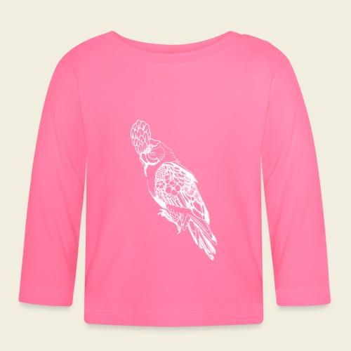 Kakadu weiß - Baby Langarmshirt