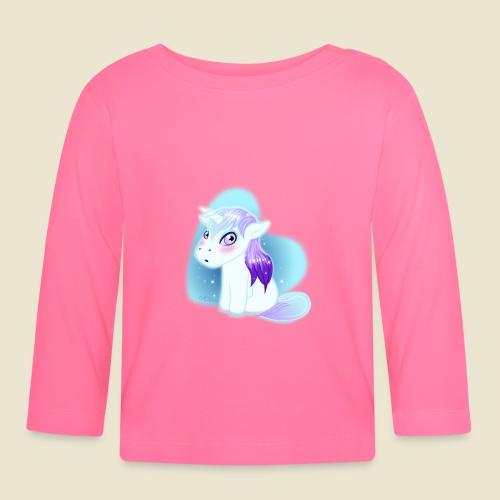 Licorne n°2 - T-shirt manches longues Bébé