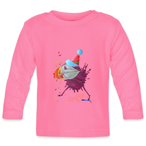 MR. PUFFIN - Baby Long Sleeve T-Shirt