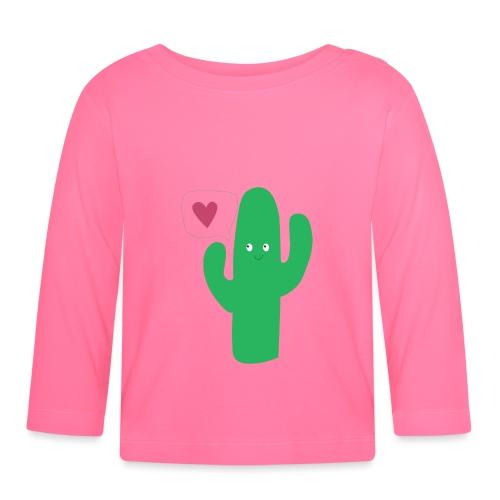 Cute cactus - T-shirt manches longues Bébé