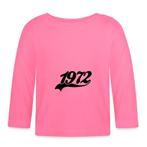 1972 schweif - Baby Langarmshirt