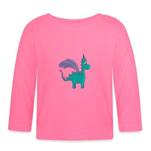 Drachenmädchen Ellie - Baby Langarmshirt