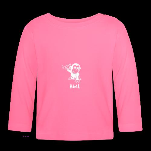 BestMonkeyLearning Logo - Baby Long Sleeve T-Shirt