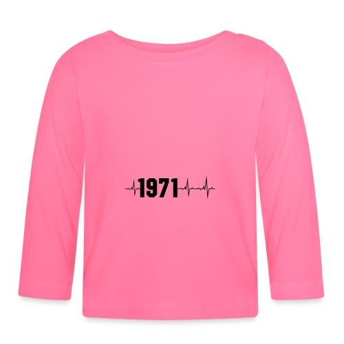 1971 Herzschlag - Baby Langarmshirt