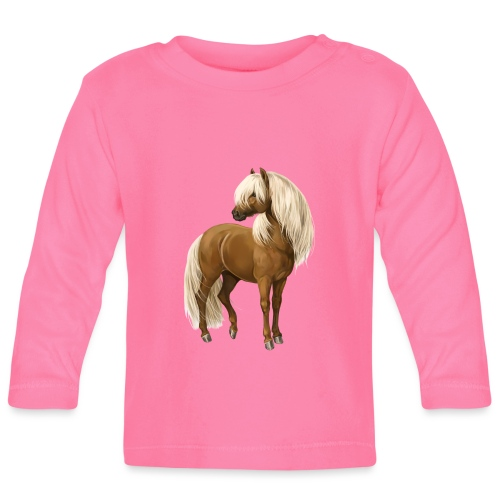 Pony Hengst - Baby Langarmshirt