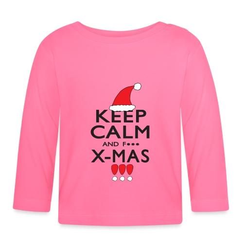 Keep calm XMAS - Baby Langarmshirt