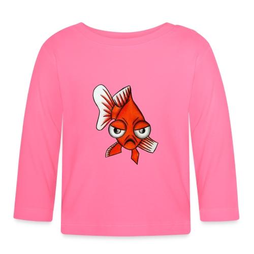 Angry Fish - T-shirt manches longues Bébé