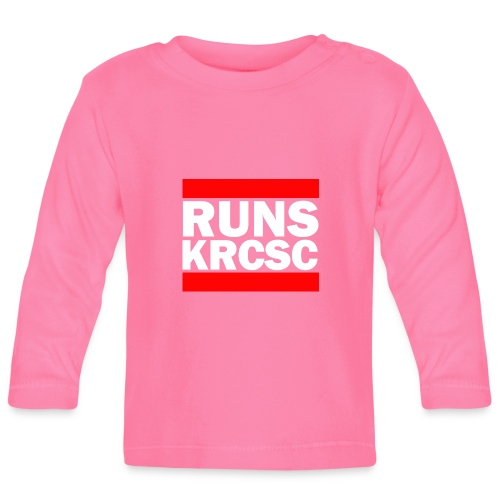 KRCSC logo (black) - Baby Long Sleeve T-Shirt