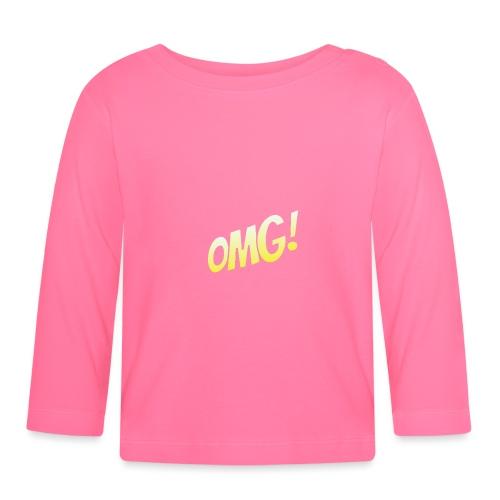 omg - T-shirt manches longues Bébé