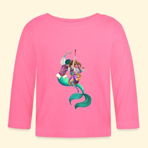 La sirène et la danseuse - T-shirt manches longues Bébé