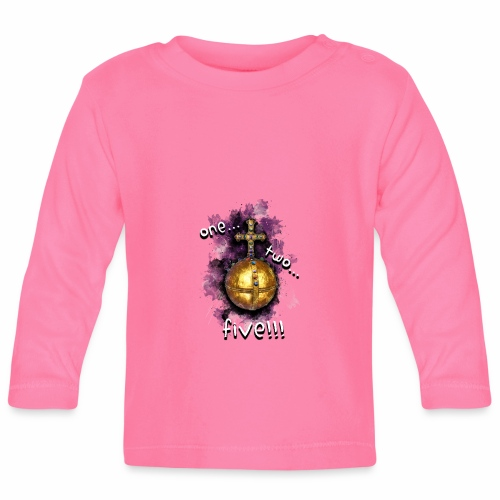 holy hand grenade of antioch - Camiseta manga larga bebé
