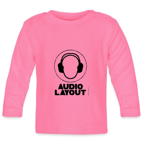 logo AL headphoneman png - Baby Langarmshirt
