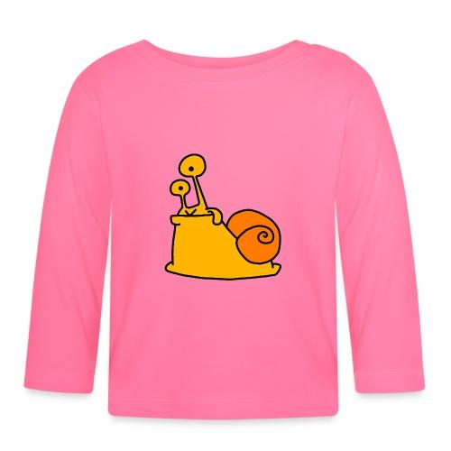 Schnecke Nr 21 von dodocomics - Baby Langarmshirt