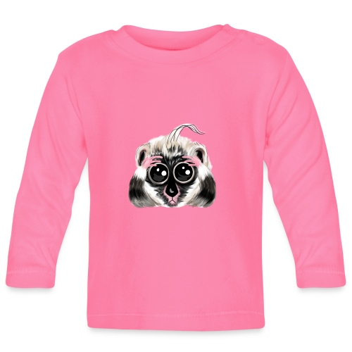 Lemur design / print - Baby Long Sleeve T-Shirt