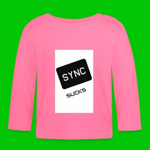 t-shirt-DIETRO_SYNK_SUCKS-jpg - Maglietta a manica lunga per bambini