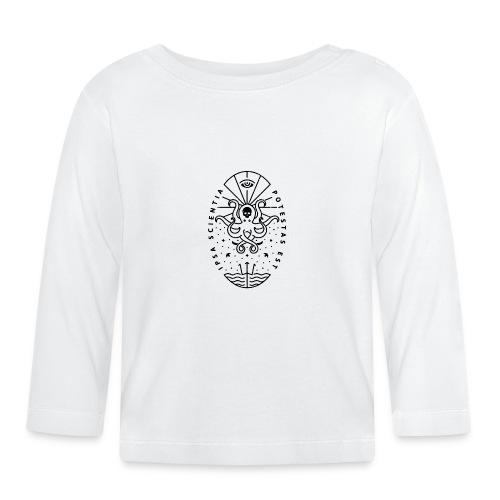 Knowledge WhiteSkull - Vauvan pitkähihainen paita