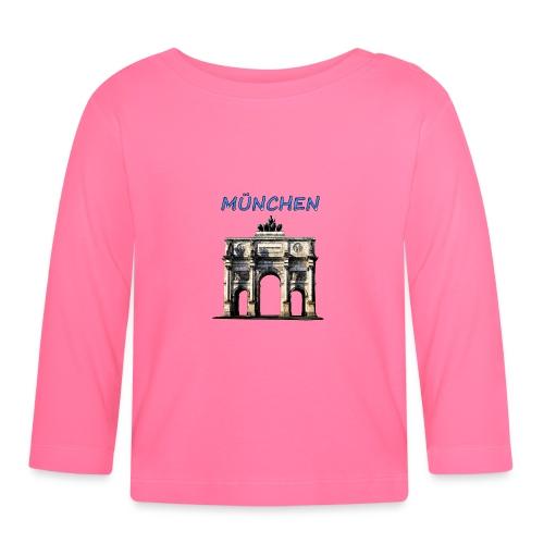 Münchnen Siegestor - Baby Langarmshirt