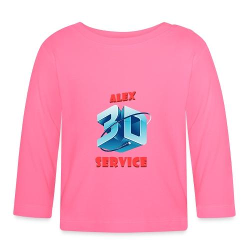 logo emporesa de impresion 3d en albacete - Camiseta manga larga bebé