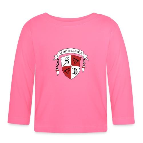 SD logo - sorte lænker - Langærmet babyshirt