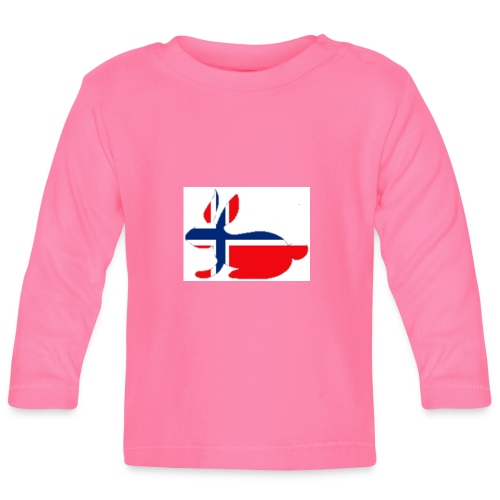 bunny_NY_LOGO_LI - Baby Long Sleeve T-Shirt